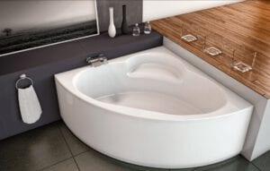 אמבטיה פינתית