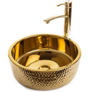 כיור מונח זהב